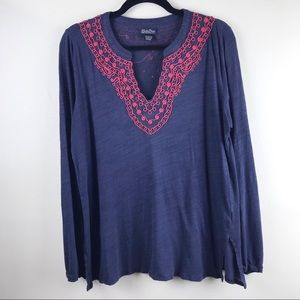 Lucky Brand | Peasant Sleeve Top